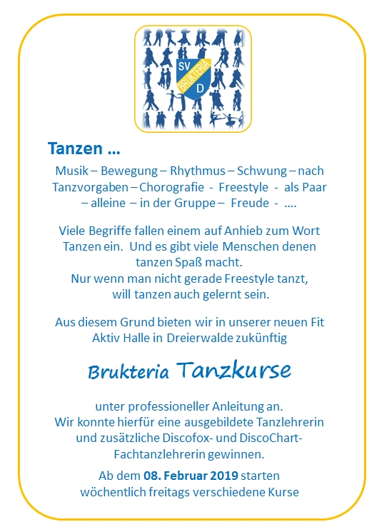 20190118 15 30 Breitensport Flyer Tanzkurse Deckblatt