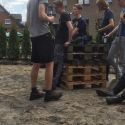 B-Jugend Aktion Pflastersteine
